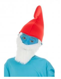 Papa Schlumpf™-Mütze für Kinder Accessoire rot