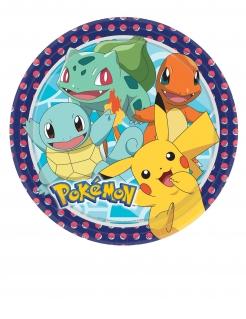 Pokémon-Partyteller 8 Stück bunt 23 cm