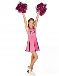 Cheerleader-Kostüm für Mädchen K3™-Lizenzkostüm für Kinder rosa