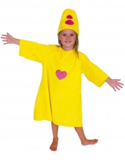 Bumba™ Kinderkostüm gelb-rosa