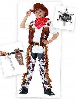 Cowboy-Kostümset für Kinder 7-teilig