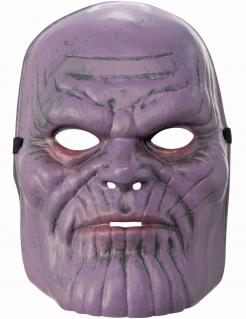 Thanos™-Maske für Kinder Avengers-Maske lila