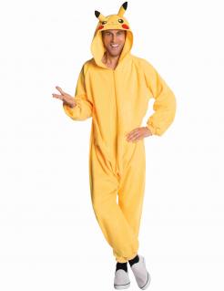 Pikachu™-Kostüm Pokémon-Kostüm für Erwachsene gelb
