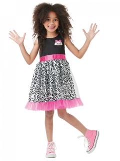 LOL Surprise™ Diva-Kostüm für Mädchen schwarz-pink-weiss