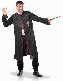 Harry Potter™ Kostüm für Erwachsene schwarz-rot-gelb