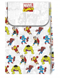 Avengers™ Premium-Geschenktüten Partydeko 6 Stück bunt 21x13cm