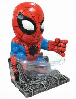 Spiderman™-Süßigkeitenspender Deko blau-rot 38 cm