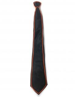 Neon-Krawatta Leuchtende Krawatte schwarz-bunt