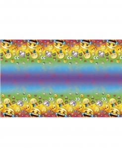 Emoji Rainbow™-Tischdecke Partydeko bunt 137x213cm
