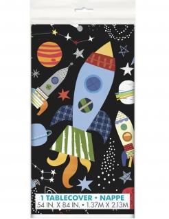 Universum-Tischdecke Partydeko bunt 137x213cm