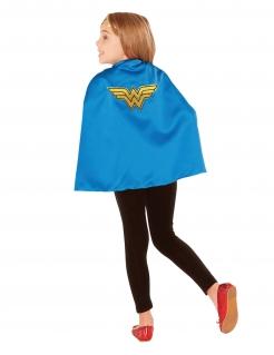 Wonder Woman™-Umhang für Kinder Accessoire blau-gelb