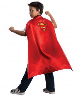 Superman™-Umhang für Kinder Accessoire rot-gelb