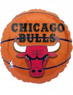 Chicago Bulls™-Aluminiumballon bunt 43 cm