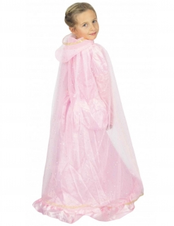 Prinzessinnen-Umhang für Kinder Accessoire rosa-gold