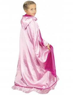 Prinzessinnen-Umhang wendbar für Kinder Accessoire rosa