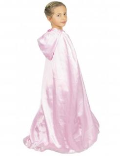 Umhang für Prinzessinnen für Kinder Accessoire hellrosa