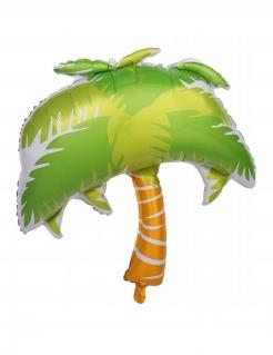 Palmen-Luftballon Sommerparty-Deko grün-braun 70 cm