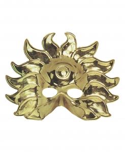 Sonnen-Maske Herrschermaske gold