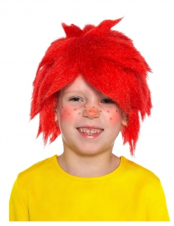 Offizielle Pumuckl™-Perücke für Kinder Lizenzartikel rot