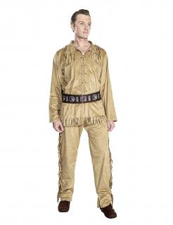 Old Shatterhand™-Kostüm für Herren Winnetou™ Faschingskostüm braun