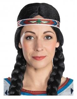 Nscho-tschi™-Haarband Kostüm-Accessoire Winnetou™ bunt