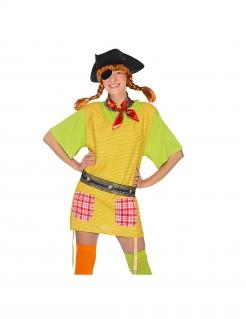 Pippi-Langstrumpf™-Piraten-Set für Damen 4-teilig für Erwachsene