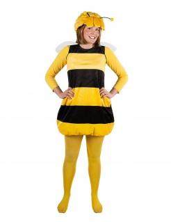 Biene Maja™-Strumpfhose für Erwachsene Accessoire gelb