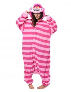 Grinsekatze-Kostüm Kigurumi™ Alice im Wunderland™ pink