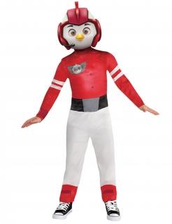 Rod-Kostüm für Jungen Top Wing™ rot-weiss-grau
