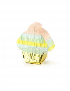 Cupcake Mini-Pinata bunt 9 x 10 x 3,5 cm