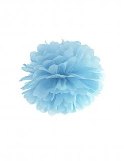 Pompon-Deko zum Aufhängen Partydeko blau 35 cm