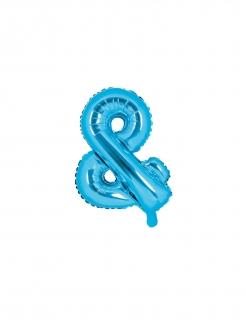 Und-Ballon Hochzeit-Deko blau 35 cm