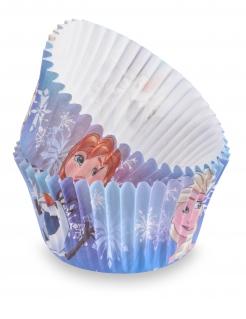 Frozen™ Muffin-Förmchen 50 Stück bunt 7 cm