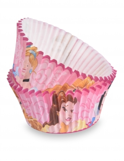 Disney™ Prinzessinnen Cupcake-Förmchen 50 Stück rosa 7cm