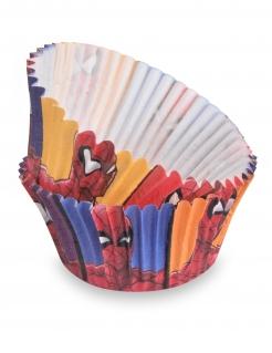 Spiderman™-Cupcakeförmchen 50 Stück bunt 7 cm