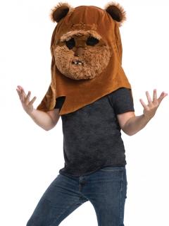 Riesige Ewok™-Maske Star Wars™-Maske Maskottchen braun