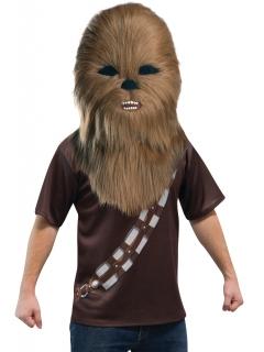 Chewbacca™ Vollmaske für Erwachsene braun