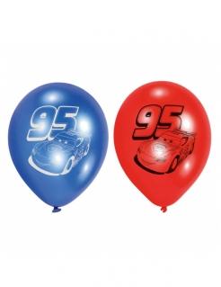 Cars™-Luftballons 6 Stück blau-rot 23cm