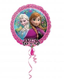 Singender Frozen™-Luftballon pink-bunt 71cm
