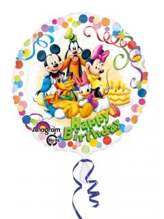 Geburtstagsballon Micky Maus und Freunde™ bunt 43 cm