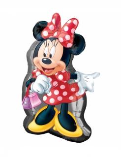Minnie Maus™-Aluminium-Luftballon Partydeko bunt 48 x 81 cm