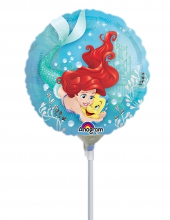 Arielle™-Luftballon Partydeko bunt 23 cm