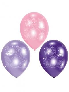 Prinzessin Sofia™-Luftballons Deko 6 Stück lila-rosa 23 cm