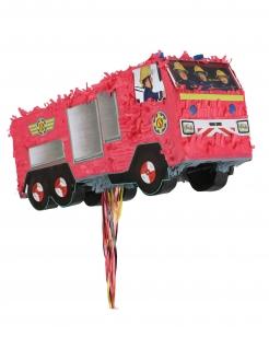 Sam der Feuerwehrmann™-Piñata Partydeko rot 50x33 cm