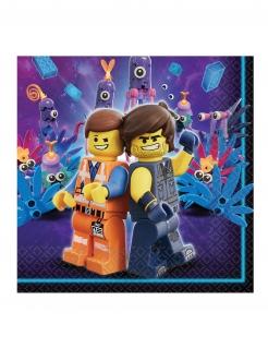 The Lego Movie 2™-Papierservietten 16 Stück bunt 33 x 33 cm