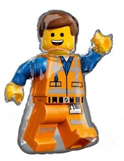 Lego™-Aluminiumballon Emmet Lego Movie 2™ bunt 60 x 81 cm