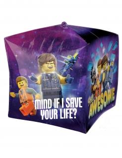 Lego 2™-Luftballon quadratisch Partydekoration bunt 38x38 cm