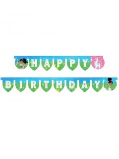 Nella Princess™-Girlande Geburtstags-Girlande Partydeko bunt 210 x 13 cm