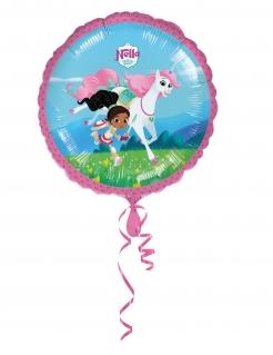 Nella, die Ritterprinzessin™ Folienballon bunt 43cm