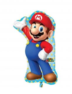 Super Mario™-Luftballon Aluminium-Ballon Dekoration bunt 55x83 cm